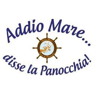 Logo gastronomia Addio mare... disse la panocchia