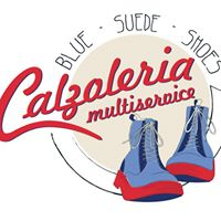 Blue suede shoes - Calzoleria multiservice Logo