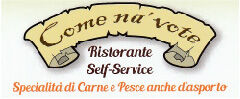 Logo ristortante self service come na vote silvi