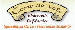 Logo ristorante self service come na vote silvi