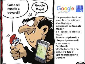 Sito di google maps