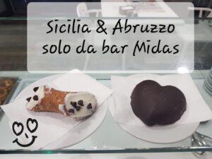 Specialità siciliane al MIDAS caffè Pescara