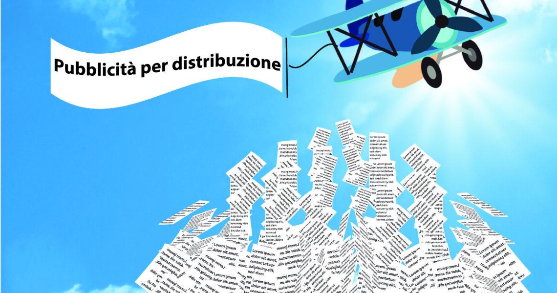 stampa di Pubblicità per distribuzione massiva