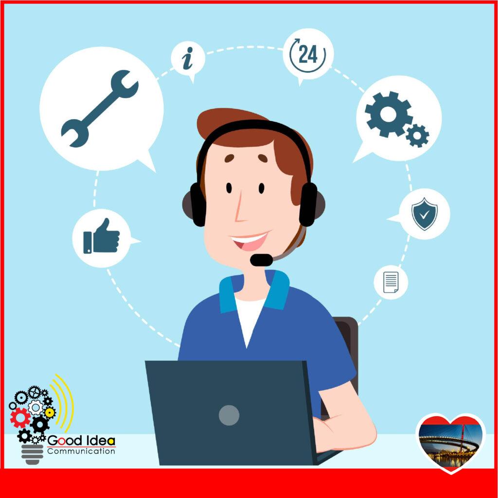 Servizio di teleassistenza siti web con Good Idea®