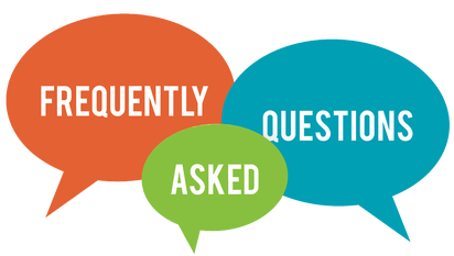 F.A.Q. frequently asked questions