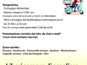 volantino delivery di welovepescara.it
