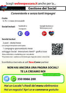 volantino Social manager by welovepescara.it