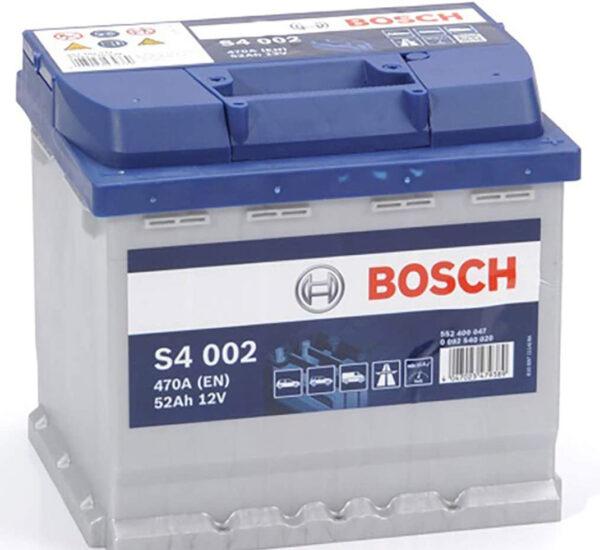Batteria bosch 52 Ah venduta da Vuesse Revisioni