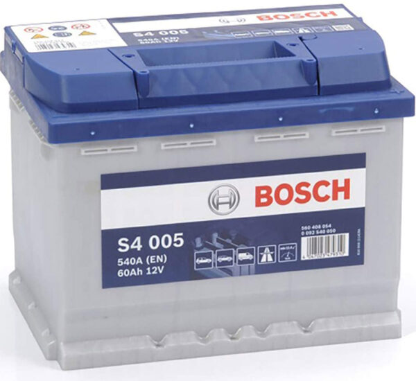 Batteria bosch 60 Ah venduta da Vuesse Revisioni