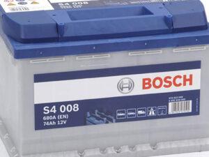 Batteria bosch 74 Ah venduta da Vuesse Revisioni