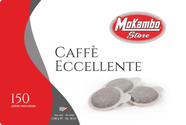 Cialde caffè Mokambo linea Eccellente