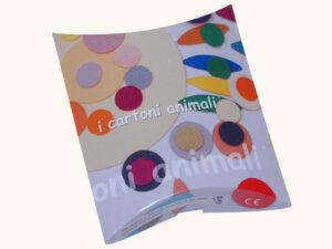 "kit creativo ""I Cartoni Animali"" colori forti"
