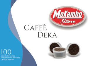 capsule caffè decaffeinato Mokambo Store
