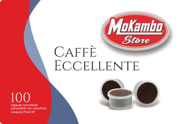 capsule caffè miscela eccellente Mokambo
