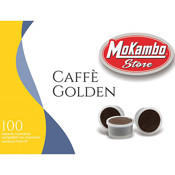 capsule caffè linea golden Mokambo