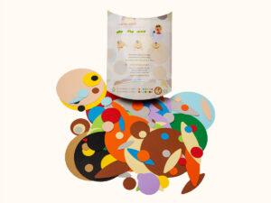 "kit creativo 14 colori pastello ""I Cartoni Animali"""