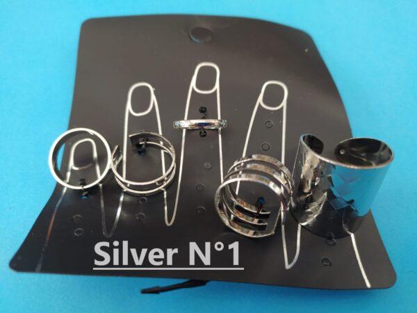 Ring collection Silver 1 - Indiano Bigiotteria