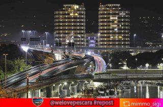 La notte è piena di vita a Pescara #repost from @mimmo_sigi  #pescarabynight #torricamuzzi #ponteflaiano #pontedelmare #nighlights #nightlife #pescaraskyline #longexposure #nightphotography  Enjoy #Lovers di #Pescara e #Abruzzo ❤️ #welovesocial #welovepescara #welovefun❤️ Segui e tagga @welovepescara #welovelife #weloveabruzzo #weloveitaly #welovourfans ------------------------------------------ #weloveshopping #pescarashopping #ecommercePescara la rete dei tuoi #negozipreferiti #newscover