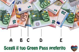 Trova l'unico solo e vero Green Pass (Da una vita che è così, da molto prima del Covid) #greenpass #parody #money #euro  ❤️ #welovesocial #welovepescara #welovefun❤️ Segui e tagga @welovepescara #welovelife #weloveabruzzo #weloveitaly #welovourfans ------------------------------------------ #weloveshopping #pescarashopping #ecommercePescara la rete dei tuoi #negozipreferiti #newscover