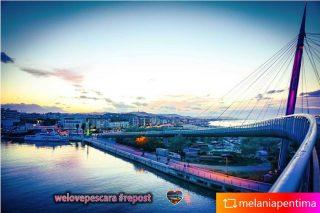 Ponte del mare Pescara Foto di @melaniapentima  #repost Enjoy😉 Per tutti i #Lovers di #Pescara e #Abruzzo #pontedelmarepescara  #meraviglia  #paesaggioabruzzese #vista #vistamontagna #vistapanoramica  ❤️ #welovesocial #welovepescara❤️ Segui e tagga @welovepescara #welovelife #weloveabruzzo #weloveitaly #weloveourfans ------------------------------------------ #weloveshopping #pescarashopping #ecommercePescara la rete dei tuoi #negozipreferiti #newscover #pubblicitàa360° #lapubblicitànonèunoptional